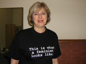 Theresa May. Zdroj: Fawcett Society. flickr.com
