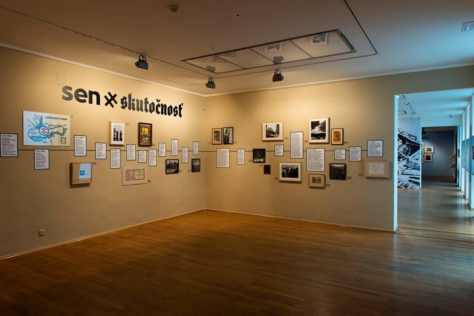 016729b1c Slovenská národná galéria sa opäť podujala na neľahkú úlohu. Priblížiť  návštevníkom vizuálne umenie a propagandu z obdobia Slovenského štátu  (1939-1945).