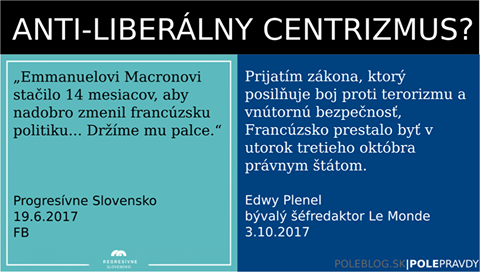Čomu drží palce Progresívne Slovensko