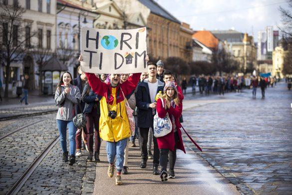 Štrajk za budúcnosť Zeme a jej obyvateľov