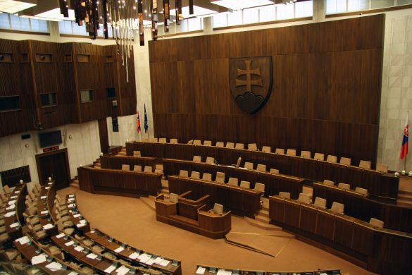Noc v parlamente