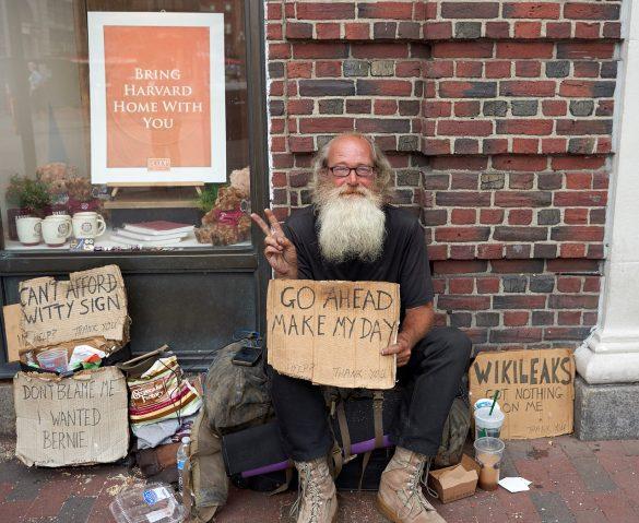 Každý bezdomovec musí mít kde bydlet